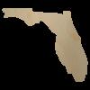 Florida wood state shape