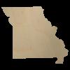 Missouri State Wood Cutout