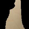 New Hampshire State Wood Cutout