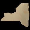New York State Wood Cutout