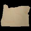 Oregon Wood Cutout