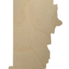 Rhode Island Wood Cutout