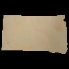 South Dakota Wood Cutout