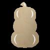 Wooden Pumpkin Stack Cutout