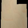 Utah State Wood Cutout