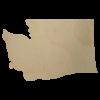 Washington State Wood Cutout