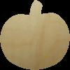 Wooden Pumpkin Cutout