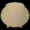 Wooden Cauldron Shape Cutout