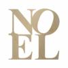 Wooden NOEL Sign Cutout