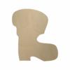 Wooden Santa Boot Cutout