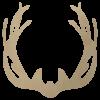 Wooden Antler Shape Cutout