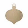 Wooden Vintage Christmas Ornament Cutout