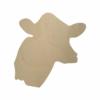 Wooden Cow Head Cutout