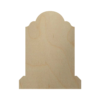 Wooden Tombstone Cutout