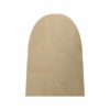 Wooden Tombstone Cutout - 2